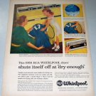 1957 Color Print Ad for 1958 RCA Whirlpool Dryer