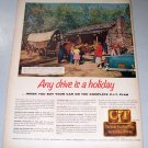 1956 CIT Time Purchase Plan Print Ad New Salem State Park Illinois