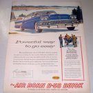 1958 Buick B58 Automobile Color Print Car Ad