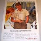 Arrow Futura Sport Shirt 1961 Color Print Ad