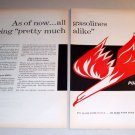 Pure Firebird Gasolines 1961 Print Gas Ad