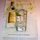 Seagrams Golden Gin 1961 Color Print Liquor Ad Honorable Reader