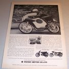 Suzuki 50cc Motorcycle 1962 Print Ad