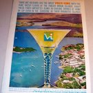 Virgin Rums US Virgin Islands 1962 Color Print Ad