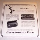 1963 Abercrombie Fitch Gun Shell Cleaning Kit Print Ad