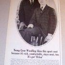 1963 Orlon Acrylic Sport Coat Print Ad Gene Woodling Jr.