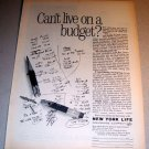 1963 New York Life Insurance Print Ad