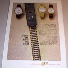 1963 Hamilton 505 Electric Watches Color Print Ad