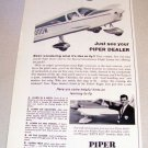 1965 Piper Cherokee Flight Lesson Print Ad