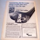 1967 Voit Unibloc Golf Club Print Ad