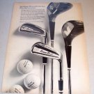1967 Spalding Devlin Silver Line Golf Clubs Print Ad