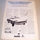 1967 Chrysler Sunbeam Alpine V Automobile Print Car Ad