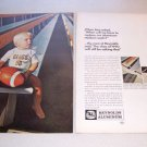 1969 Reynolds Aluminum 2 Page Color Print Ad Class of 1990