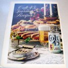 1969 Colt 45 Malt Liquor Color Print Brewery Ad