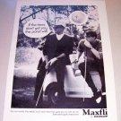1969 Dunlop Maxifli Golf Balls Print Ad