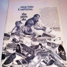 1969 Converse Basketball Shoes Print Ad