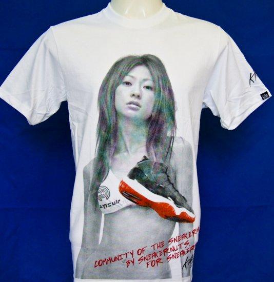 X treme Sexy Japanese Teen T Shirt supreme cute sz.M white