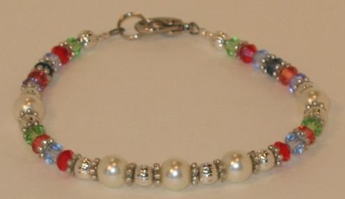 Swarovski Pearl multi-colored bracelet
