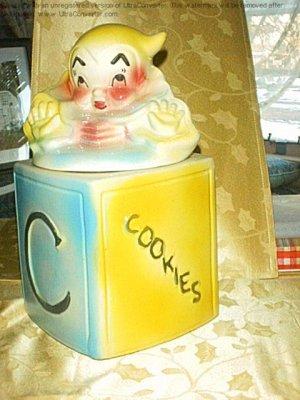 Jack-in-the Box Cookie jar