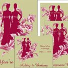 Cranberry Bride and Bride Lesbian Wedding Package Deal
