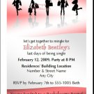 Shopper Bachelorette Party Invitation