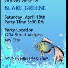 Under the Sea Birthday Party Ticket Invitation