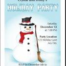 Frosty Holiday Party Invitation