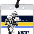 Chargers Colored Football All-Star Pass Invitation