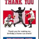 Philadelphia Phillies Colored Baseball Thank You Cards