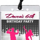 Dance Party VIP Pass Invitation