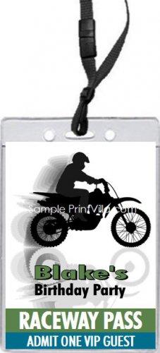 Dirtbike VIP Pass Invitation