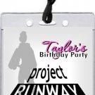 Project Runway Pass Invitations