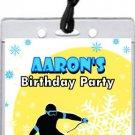 Snow Ski Slope VIP Pass Invitations