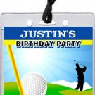 Golf VIP Pass Party Invitations