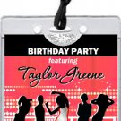 Nightclub Red VIP Pass Invitations