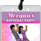 Dancing Teens Pastel VIP Pass Party Invitations