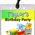 Toy Train Boarding VIP Pass Invitations
