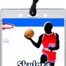 Basketball Red Blue All-Star Pass Party Invitations