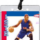 Detroit Pistons Colored Basketball VIP Pass Invitations