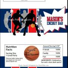 Navy Red Basketball Team Candy Bar Wrappers