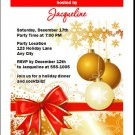 Gift Wrapped Holiday Party Invitations