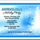 Starry Tree Holiday Party Invitation