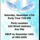 Holiday Bells Party Ticket Invitations