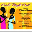 Out on the Town Party Invitations