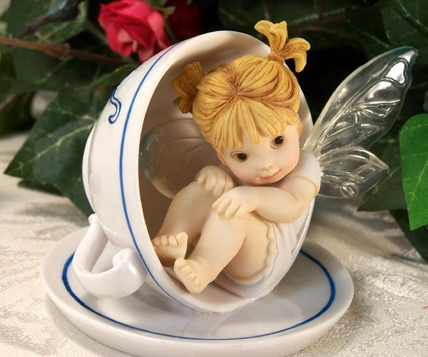 Kitchen Fairy in Teacup