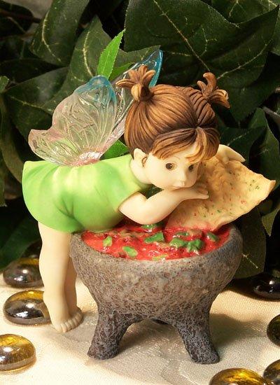 Kitchen Fairy with Salsa