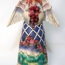 Jim Shore Angel with Rose Bouquet