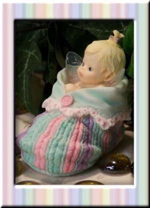 Kitchen Fairy Baby in Bootie