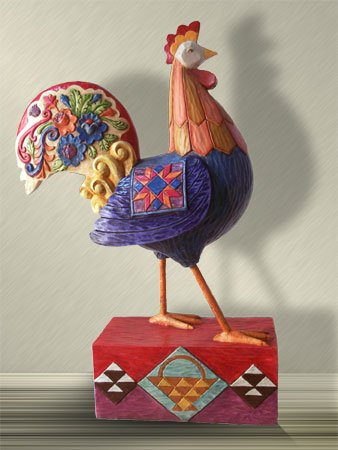 Jim Shore Rooster Large