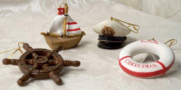 Nauticle Christmas Ornaments